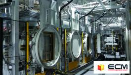 Multi chamber & modular installations for heat treatment
